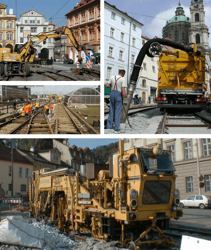 Železniční a tramvajové trate Hans Wendel- Praha